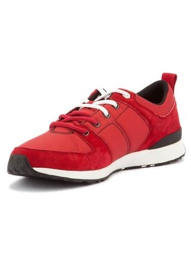 Caterpillar Bağcıklı Spor Ayakkabı Kırmızı